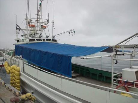 船舶用オーニング01